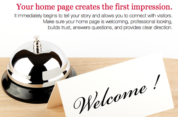 Your-Home-Page-Creates-the-First-Impression