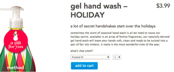 Method Home hand wash ad